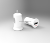 12W usb car charger ce rohs FCC passed cell phone car charger