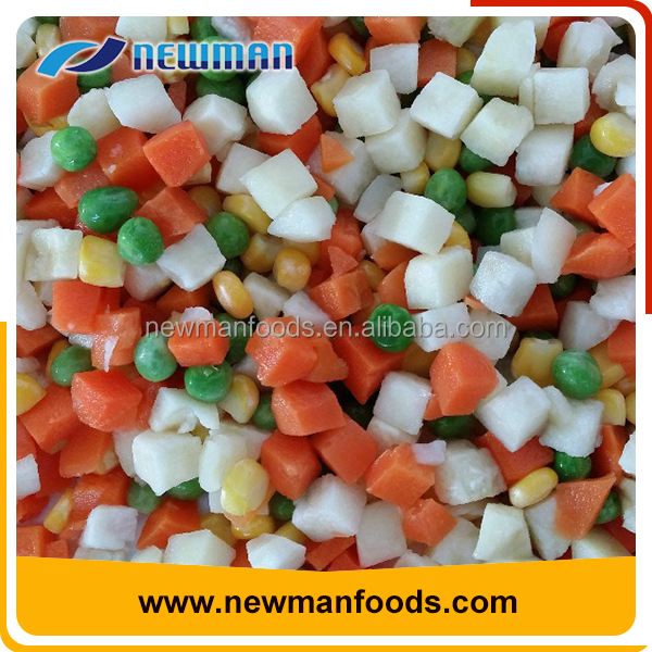 Frozen bulk canned healthy steamed mix vegetable