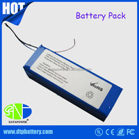 2016 hot selling products for lithium polymer customized e-bike battery pack