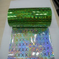 Green & Super Quality PET Holographic Film For Decoration