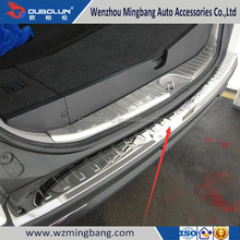 Stainless Steel Rear Bumper Foot Plate for Pajero Sport 2014 Car Accessories High Quality
