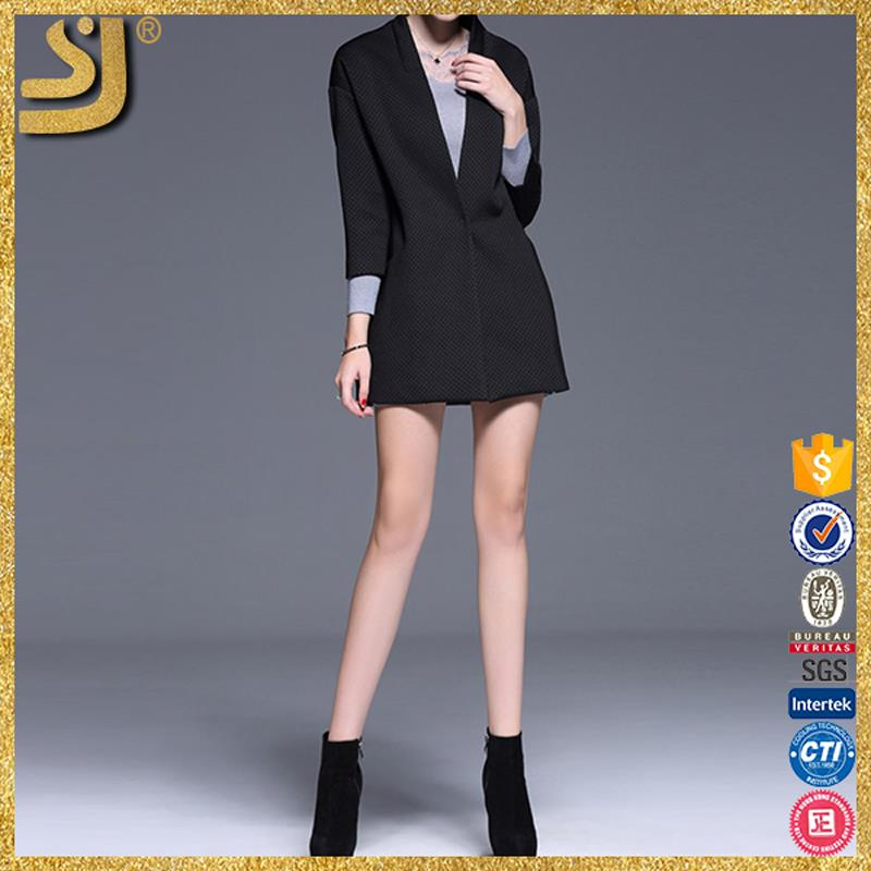 SHANGYI european blazer wowoman's clothing sets, fashion autumn winter jacket blazer, high quality blazers for wowoman coats