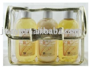 3PK BODY LOTION AND SHOWER GEL IN PVC BAG