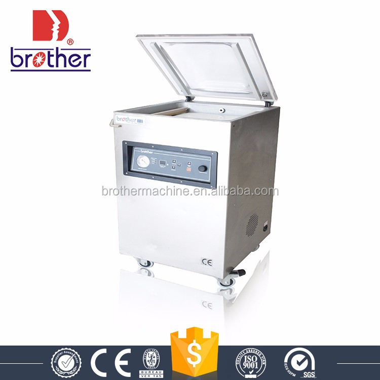 VM(Q)500E China manufacturer food saver Single chamber industrial vacuum sealer