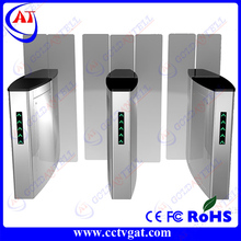 New design CE approved steel swing gate turnstile,electronic security turnstile sliding gate 304 stainless steel material