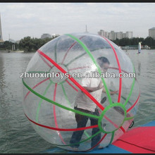 2014 summer season HOT sale PVC / TPU water bounce ball / spinning water ball fountain