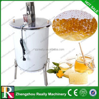 Commercial automatic reversible 4 frames electric honey extractor