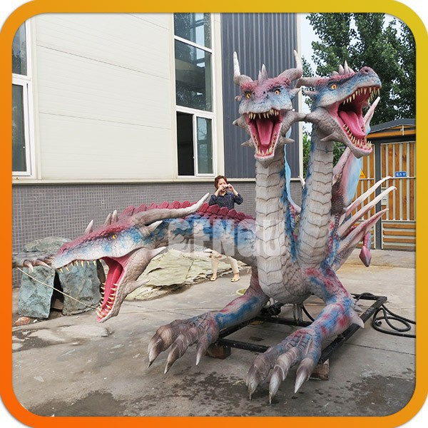 Robotic Spray Water Dragon Life Size