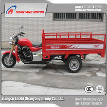 semi closed motorcycle thee wheels tricycle with cargo box promotional tricycle