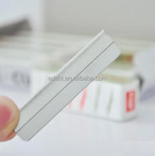 10pcs/pack Eyebrow Trimmer Blades Eyebrow Cutter Equipment Special Platinum Coated Edge Razor Blades