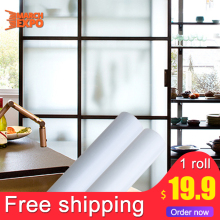 Free shipping single frosted Usage wide self adhesive vinyl window film for glass window stickers