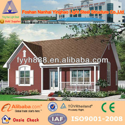 Latin modern prefabricated wooden steel houses