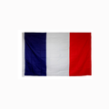 custom hanging France country flag,different national country flag banner printing