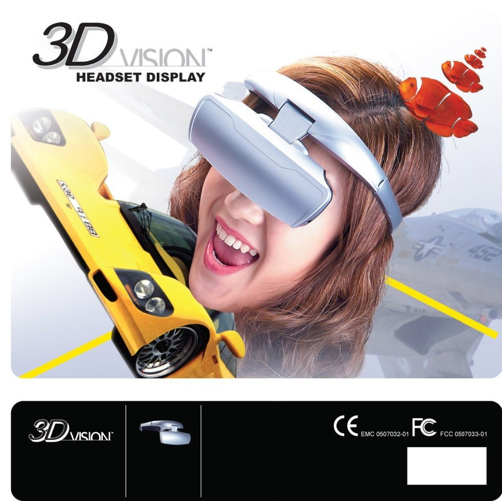 Hot Intelligent 922K LCD Display Virtual Reality 3D Glasses