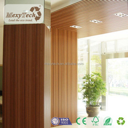2016 pop hot sale wood composite boards interior decoration PVC wall panel with cladding panel