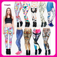 Alibaba Wholesale New Arrival Multi-design 3D Digital Sublimation Printed Fitness Sexy Leggings for Women