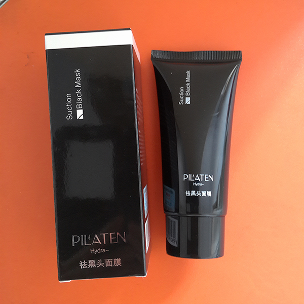 Tearing pilaten tearing style deep cleansing purifying peel off the black head, acne treatment, black mud face mask facial mask