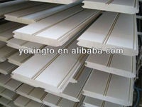 Solid wood flooring in paulownia, pine, china fir, oak, rubber wood