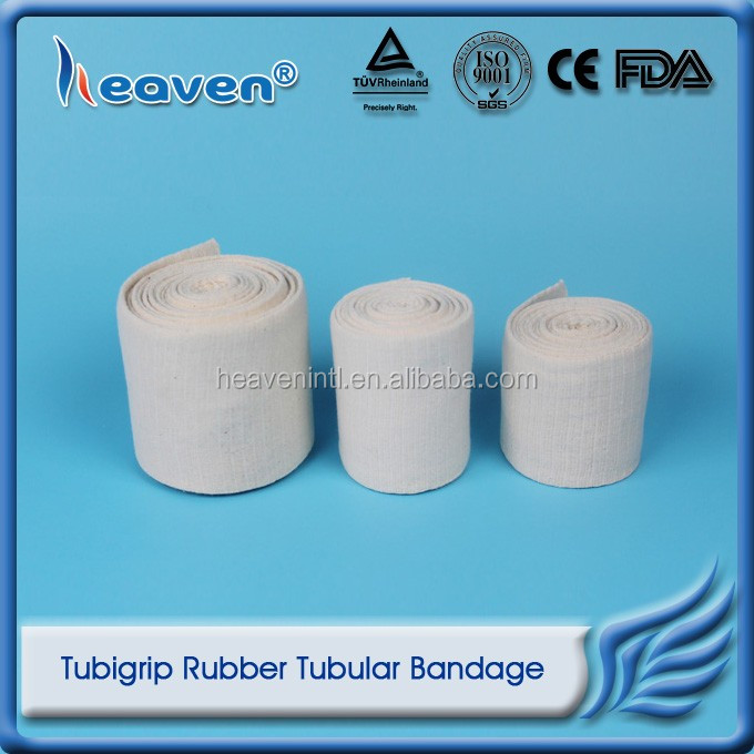 Heaven Medical Surgical Stockinette Bandage Tubigrip Elasticated Rubber Tubular Bandage
