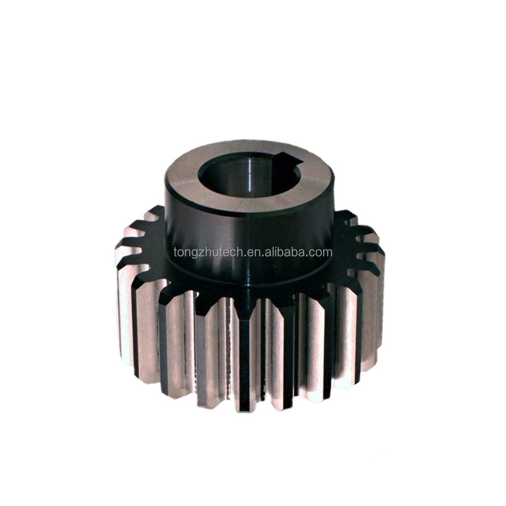 Hobbing Maching Hardness Spur Gear Apply To Various Printing Laser Machinery Cylindrical Gear