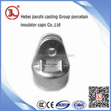 electric iron insulator sets for suspension and tension towers