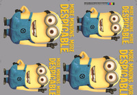 Minions Hot Peel Plastisol Heat Transfer Printed Type Manufacture In China Supplier For Custom Design Iron On T-shirts