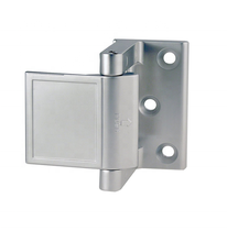 Zinc Alloy Privacy Door Safety Latch Types ,Sand Chrome Finish.