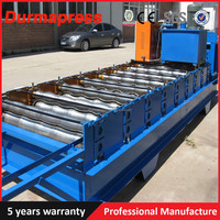 IBR Roof Panel Roll Former Equipment Interlocking Galzed Metal Roofing Tiles Making Machine