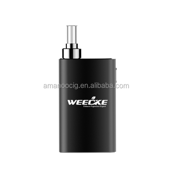 New arrive weecke dry herb vaporizer with ceramic chamber, best vaporizer for dry herb, leading wax dry herb vaporizer supplier