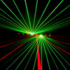 20w 8 eyes 240mw~640mw green laser pointer, disco dj laser pointer light curtain