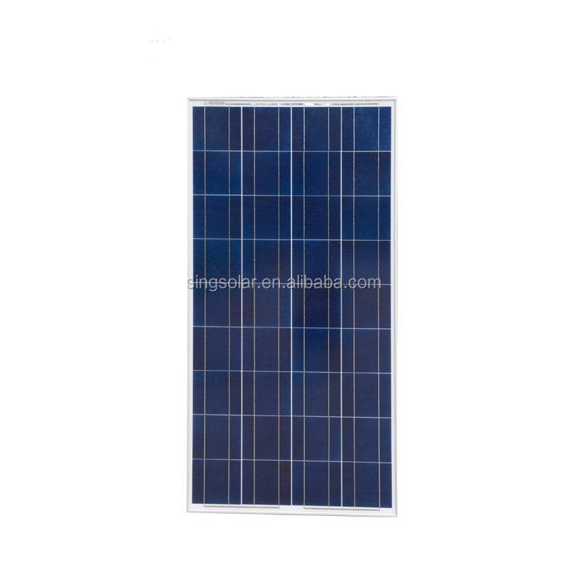 150W grade A high quality and efficiency poly solar module made in China excellent price per watt
