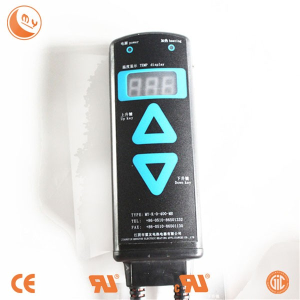 Lithium electronic heating silicone rubber heater