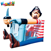 Hot inflatable pirate jumpy house adult bounce house bouncy castle
