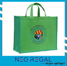 cheap promotion shopping jute bags/jumbo garment jute bag/reusable shopping bags for promotion