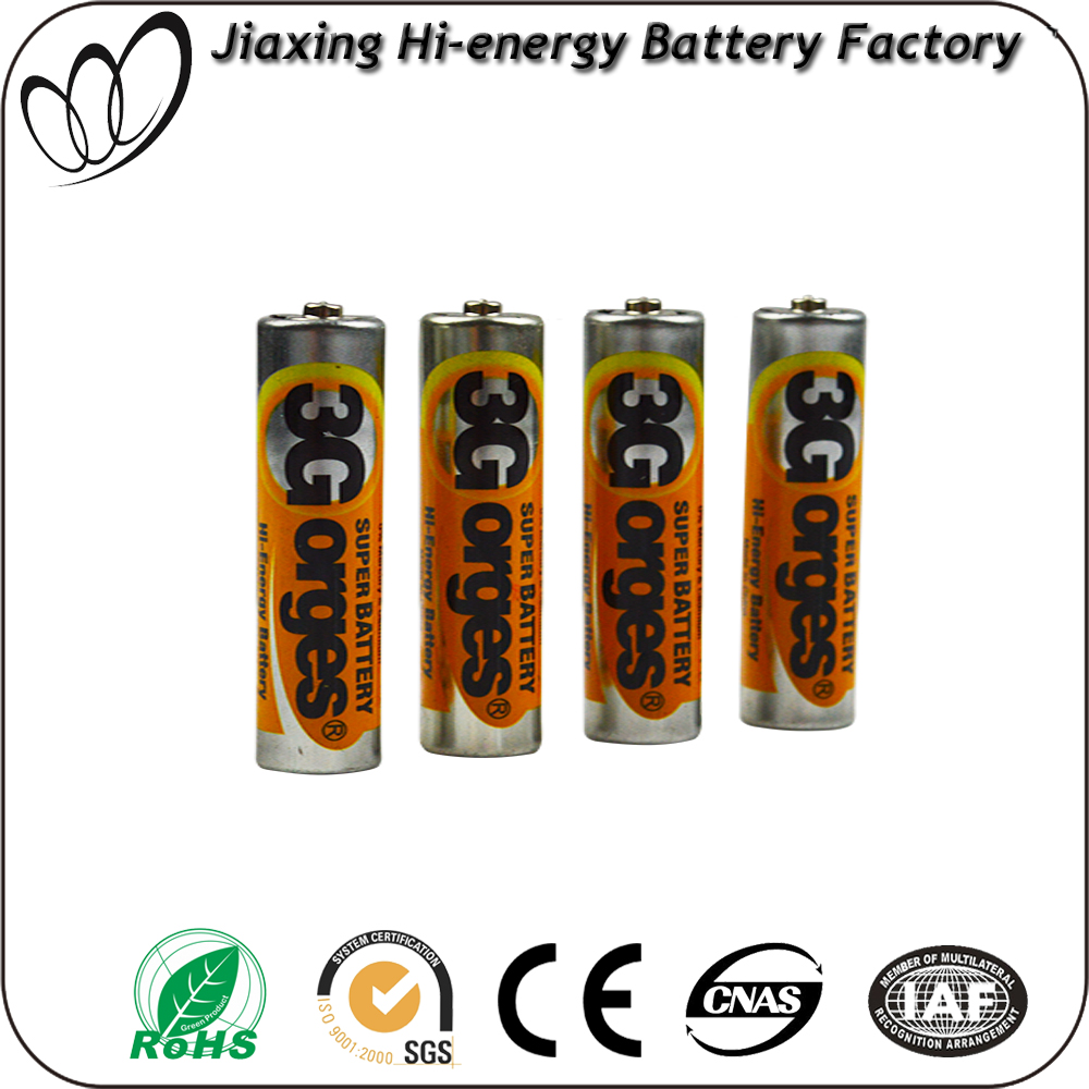Excellent quality R6 UM4 aa battery manufacturer
