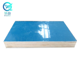 12mm 11-layers pp plastic film faced plywood for construction/russian birch plywood price