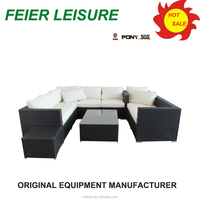 new style outdoor rattan sofa sets sale with high quality