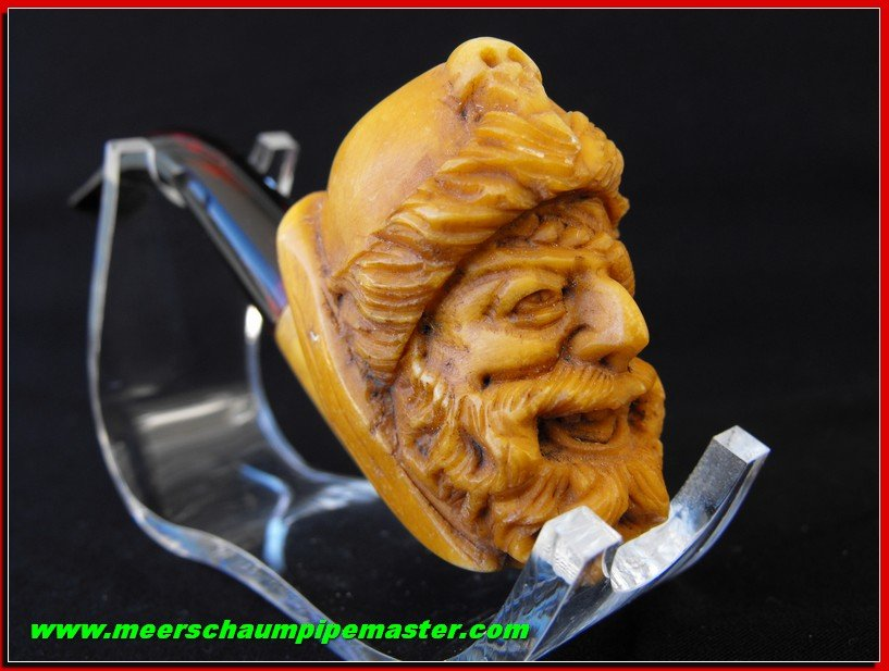 Pirate Meerschaum Pipe Pipa Pfeife