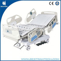 China BT-AE031 Hospital electric adjustable customized home care bed, high quality 4 crank manual hospital bed price