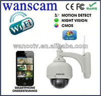 Digital Video IP Camera 3X Optical Zooms Doming Network Web Security System Cameras