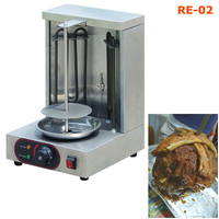 Electric Shawarma Equipment Chicken Vertical Broiler Grill Home Doner Kebaba Making Maker Shawarma Machine