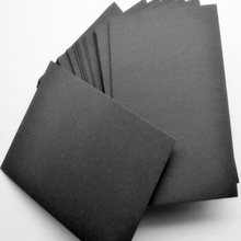 80-2500gsm black paper 1mm/2mm/3mm high stiffness black paper board for packing material