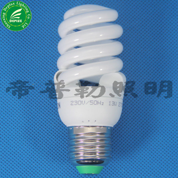 full spiral energy saving lamps half spiral energy saver light bulbs
