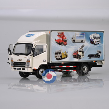 1:30 JAC diecast light truck model, scale die cast truck models,custom made truck toys