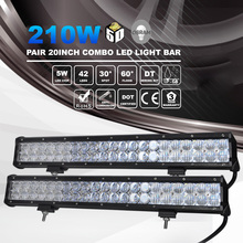 Brighten Your Way Led Driving Light Double Row Offroad New Led Light Bar for Trucks 4x4