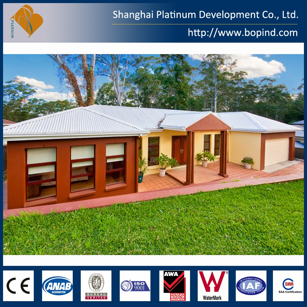 Good insulation Real Estate well designed prefab house for sale