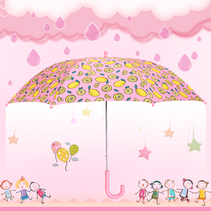 Hot sale small size 16 inch, 19 inch pick color Princess cartoon kids happy children umbrella