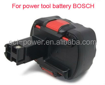 superior Bosch 14.4v green power drill tool battery pack with factory price made in China with factory price