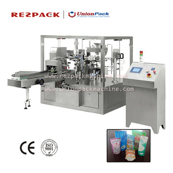 Top Resealable Stand Up Pouch Filling Machine