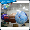 Inflatable hanging planet balloon/ inflatable Jupiter balloon with led light inside